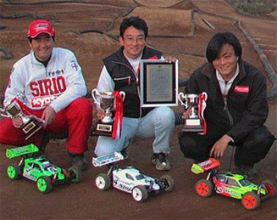Japanese 1/8th off road Nationals