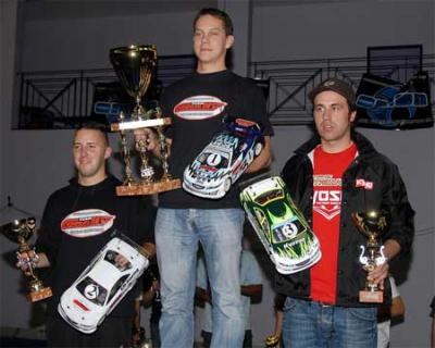 2006 Team Orion Cup podium