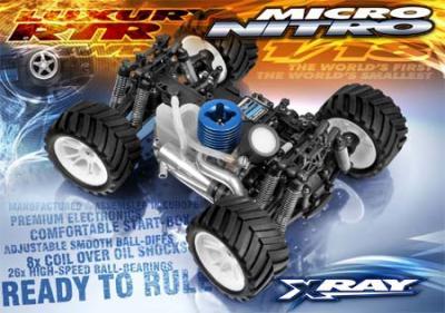 Xray Micro Nitro RTR