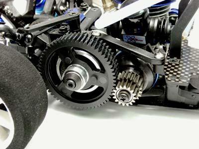 Atomic RC V-One RRR parts