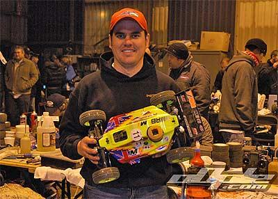 David Crompton with Team Magic M1B