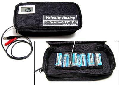Velocity Racing battery warmer 2