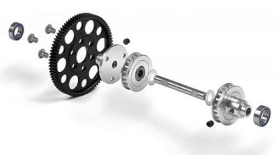 Xray Middle One-way Pulley set