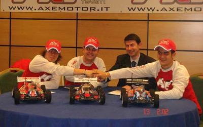 Axe Rossi 2007 team