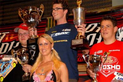 Bastian Hennig wins Stock class at DHI Cup