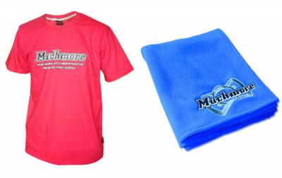Much More t-shirt and towel