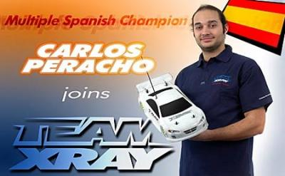 Carlos Peracho signs for Team Xray