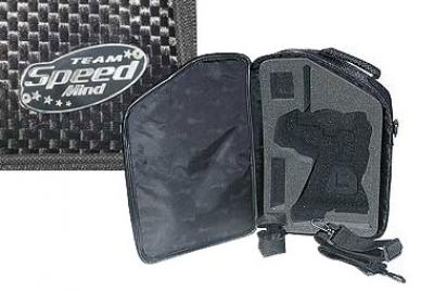 Speed Mind Carbon finish transmitter bags