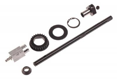 Serpent release brake pulley one-way set