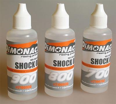 Shock oil from DiMonaco Racing Products