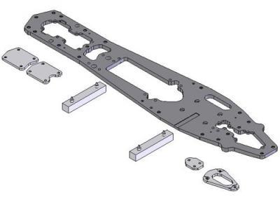 Kawahara MRX4-R chassis plate PRO