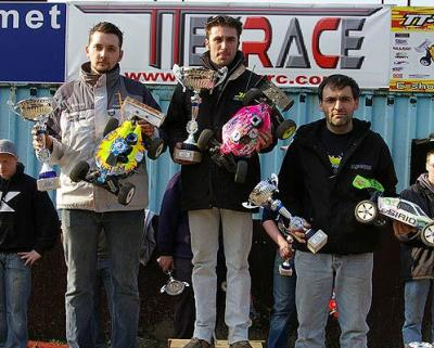 Jerome Sartel wins EFRA GP Belgium