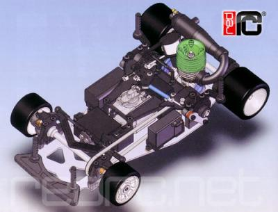Kyosho Gas powered 1/12th pan car