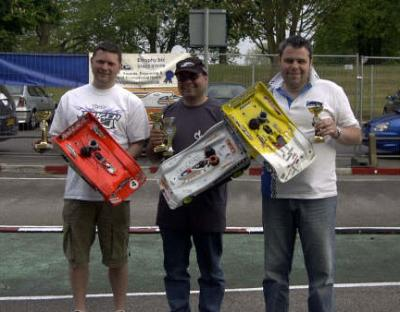 Mark Green wins Rd2 of UK 1/8th Nats