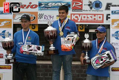 Alessi Mazzeo wins 1/10th scale European B championships