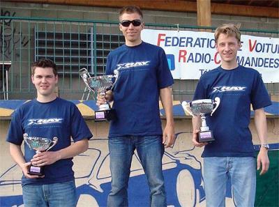 Teemu Leino wins Euros Warm up race