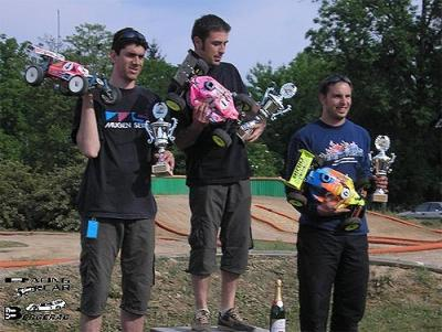 Jerome Sartel takes Rd2 of French Nats