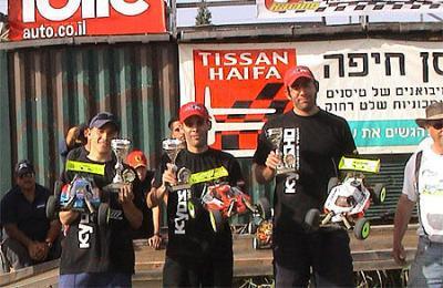 Team Kyosho win Israeli 3h Endurance