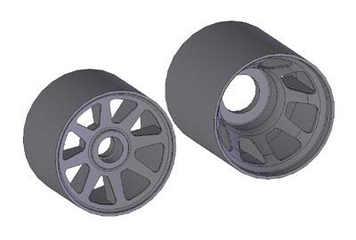 Kawada prototype wheel for M300