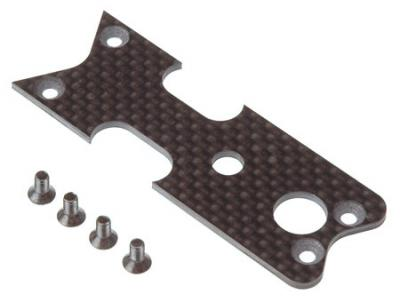 Serpent carbon plate for LCG chassis