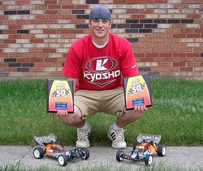 Ben Ellis takes 2WD & 4WD classes at Indy 50