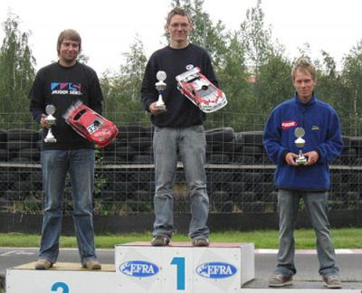 Rico Kröber wins German East 200mm Rd6