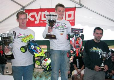 Elliot Boots wins Kyosho Masters