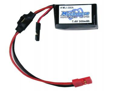 Much More LiPo receiver pack