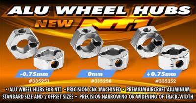 Xray NT1 Alu Wheel Hubs