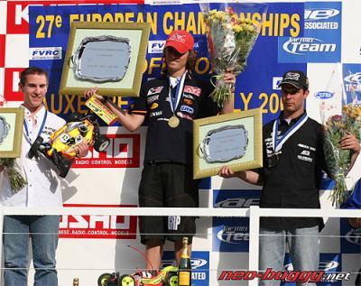 Robert Batlle is 2007 European Champion