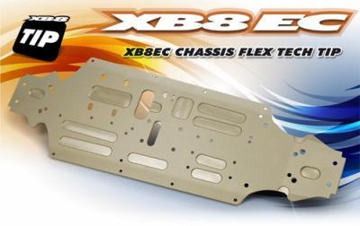 Xray XB8EC Chassis Flex Tech Tip