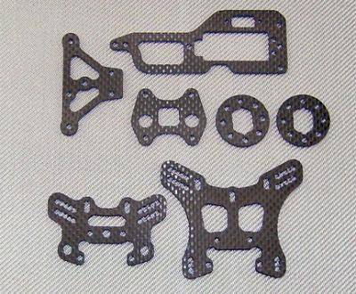 Xtreme Racing Carbon parts for CRT .5
