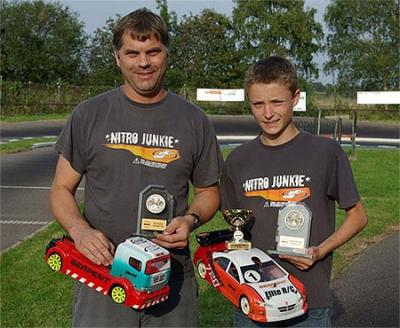 Christopher wins BRCA 1:10 Truck Champs