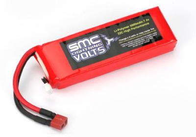 SMC 5000mAh 7.4V 22C LiPo Battery
