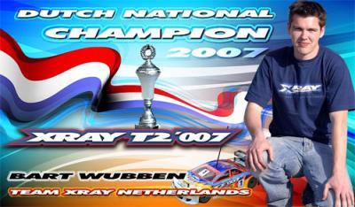 Bart Wubben is Dutch National Champion