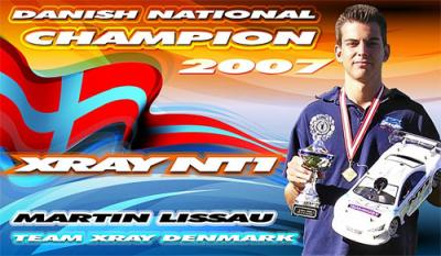 Martin Lissau wins 2007 Danish Nats