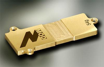 M Mod MRX-4X Brass Battery plate