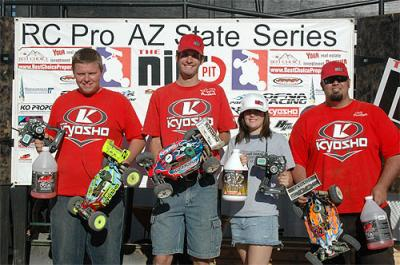 King & Lutz win at RC Pro Series West