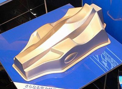 Tamiya TRF501X body shell V2