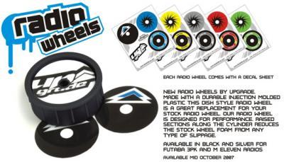 Upgrade RC Radio Wheels