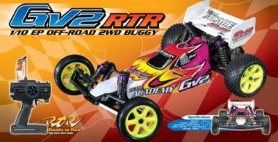 Academy GV2 RTR EP 2wd Buggy