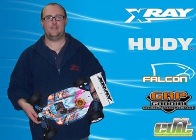 Kevin Brunsden joins Team Xray