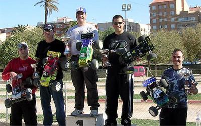 Zamorano wins Spanish Truggy Cup