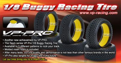VP Racing 1/8th Buggy Tires