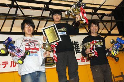 Matsukura & Suki take JMRCA buggy titles