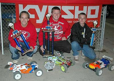 King, Vik & Nicol sweep Kyosho Fall Classic