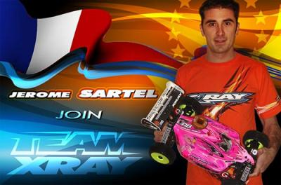Jerome Sartel confirmed at Xray