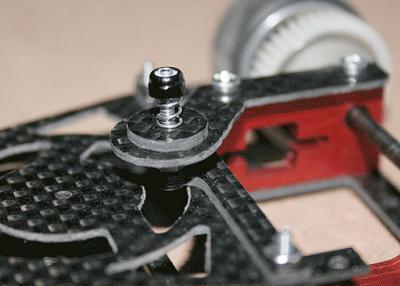TGR Sinister Friction damping system