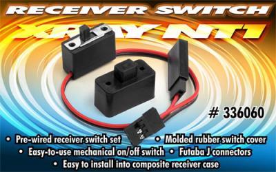 Xray NT1 Receiver Switch set