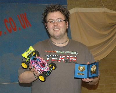 Cris Oxley is BRCA Micro Scale Champion